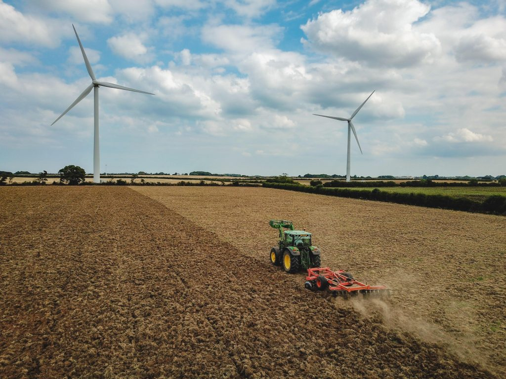imagen de energía eólica